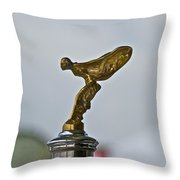 Rolls Royce Throw Pillow