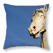 Roman Statue Throw Pillow