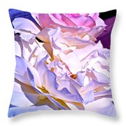 Rose 58 Throw Pillow