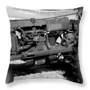 Rusted Workhorse Throw Pillow