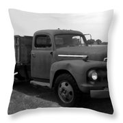 Rusty Ford Truck 2 Throw Pillow