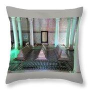 Saadian Tombs 2 Throw Pillow
