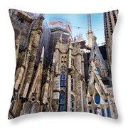 Sagrada Familia - Gaudi Throw Pillow