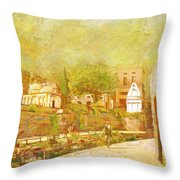 Saidpur Village Throw Pillow
