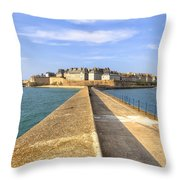 Saint-malo - Brittany Throw Pillow