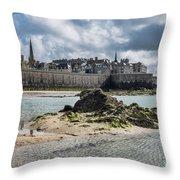 Saint Malo Throw Pillow