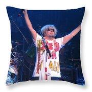 Sammy Hagar Throw Pillow