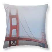 San Francisco - Golden Gate Bridge  Throw Pillow