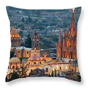 San Miguel De Allende, Mexico Throw Pillow