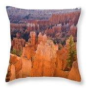 Sandstone Hoodoos Bryce Canyon  Throw Pillow