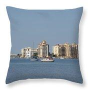 Sarasota Bay Throw Pillow