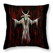 Savior Throw Pillow by Steve Hartwell