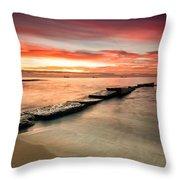 Sea Sunrise Throw Pillow