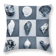 Seashell Composite Throw Pillow
