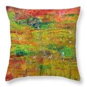 Seasonal Ecology Throw Pillow