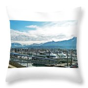 Seward Alaska Throw Pillow