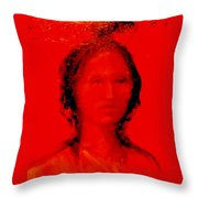 She Walks In Beauty Throw Pillow by Johanna Elik