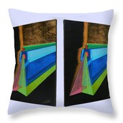 Shots Shifted - Hermite 5 Throw Pillow