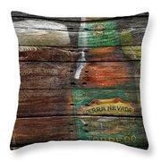 Sierra Nevada Throw Pillow