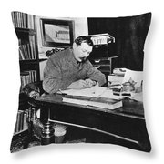 Sir Arthur Conan Doyle Throw Pillow