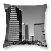 Skyline Of Tucson Az Throw Pillow