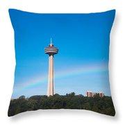 Skylon Tower Throw Pillow