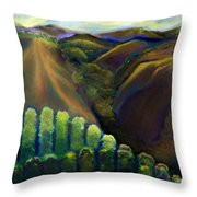 Sonoma Hills Throw Pillow