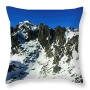Southern Alps New Zealand Throw Pillow
