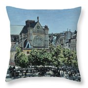 St. Germain L'auxerrois Throw Pillow