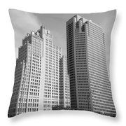 St. Louis Skyscrapers Throw Pillow