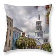 St. Michael's Church Throw Pillow