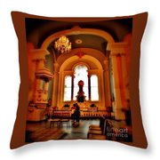 St Pauls Chapel Throw Pillow