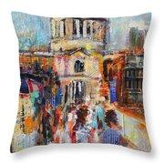St Paul's From The Millennium Bridge Throw Pillow