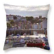 St Peter Port - Guernsey Throw Pillow
