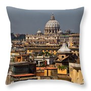 St Peters Basilica Throw Pillow