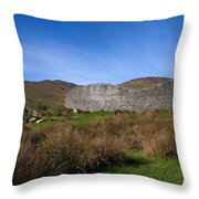 Staigue Fort At 2,500 Years Old One Throw Pillow