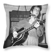 Steve Forbert Throw Pillow