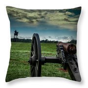 Stonewall At Henry Hill Throw Pillow