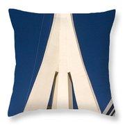 Stratosphere Las Vegas Throw Pillow