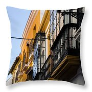 Streets Of Seville Throw Pillow