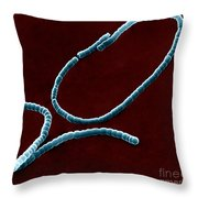 Streptococci, Sem Throw Pillow