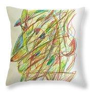 Subconscious Thought No. 1 Throw Pillow