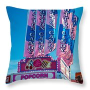 Sugar Shack Throw Pillow