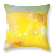 Summer Ice Cream Stains Throw Pillow