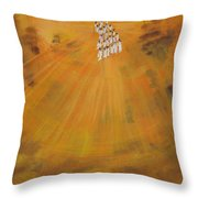 Sun Choir Throw Pillow