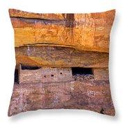 Sun Point View Mesa Verde National Park Throw Pillow