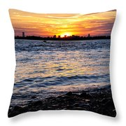 Sunset Beauty Throw Pillow