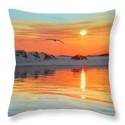 Sunswept Throw Pillow