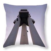 Urban Symmetry Throw Pillow