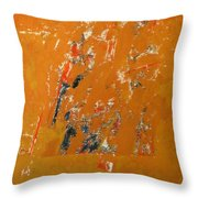 Symphony No. 8 Movement 16 Vladimir Vlahovic- Images Inspired By The Music Of Gustav Mahler Throw Pillow